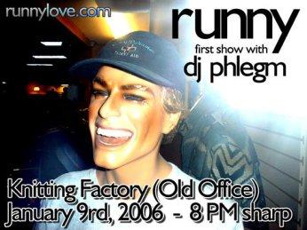 @ The Knitting Factory w/ DJ Phlegm - 1.9.2006