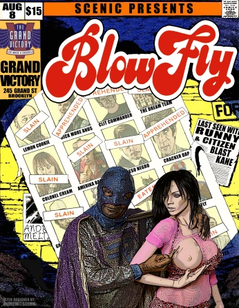 @ The Grand Victory w/ Blowfly and Citizen Blast Kane - 8.10.2014
